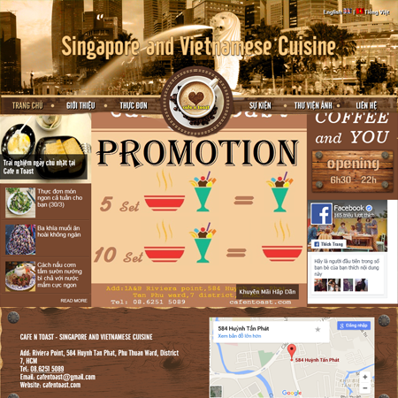 CafeNToast - Singapore And Vietnamese Cuisine