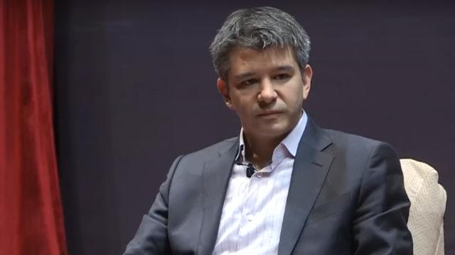 Travies Kalanick đã từ chức CEO của Uber
