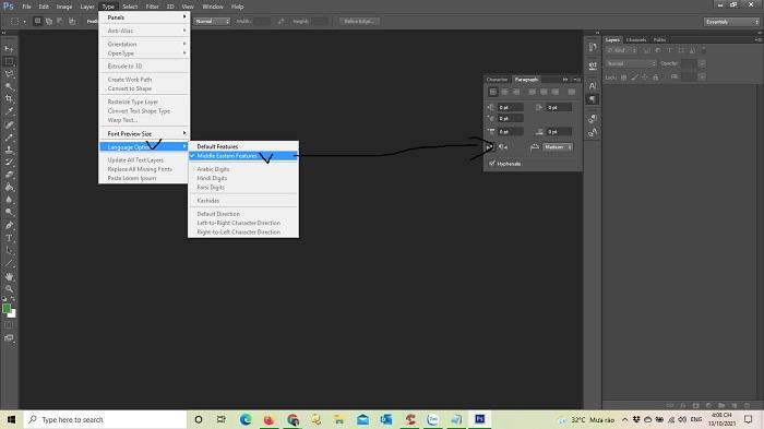Hướng dẫn sửa lỗi con trỏ ngược trong Photoshop